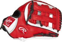 "Rawlings Baseball Glove GAMER XLE SERIES 11 3/4"" Inf, Conv/Pro H, Narrow Fit"