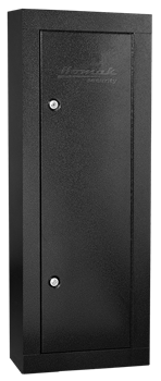 First Watch 6-GUN STEEL CABINET - BLACK