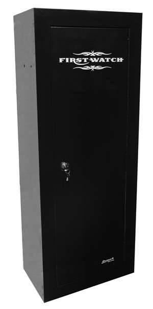 First Watch 14 Gun  Cabinet - Steel - Black