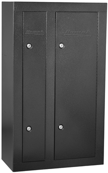 First Watch 8-GUN DOUBLE DOOR STEEL CABINET - BLACK