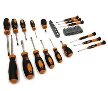 Homak Screwdriver Set, 51-Piece