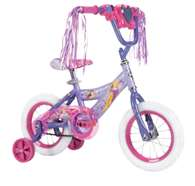 "Huffy Disney Princess 12"" Bike with Handlebar Magic Mirror 2018 Model Bicycle"