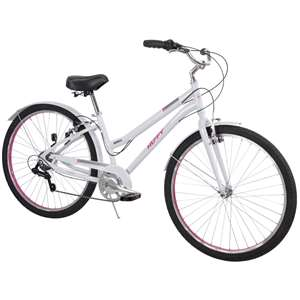 "Huffy Ladies Womens  Casoria 27.5"" (Perfect Fit Aluminum Frame) Comfort Bicycle Bike"