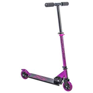 Huffy Prizm Girls Metaloid Pink In-Line Scooter 100mm