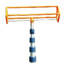 15 Foot  Search And Rescue Orange Four-Ball Retriever