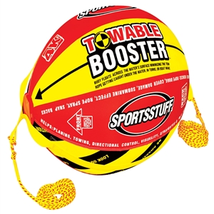 "SPORTSSTUFF 4K BOOSTER BALL Red / Yellow 38"" x 27"""