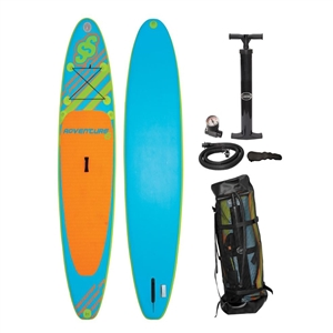 "SPORTSSTUFF ADVENTURE 6 ISUP (Brownbox)  Blue / Orange 10'6"" x 30"" x 6"""