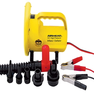 AIRHEAD High Pressure Air Pump, 12v  Yellow 12v