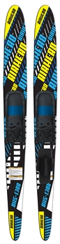 "AIRHEAD S-1300 Combo Skis, 67"", pair Blue / Yellow 67 Inches"