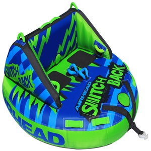 AIRHEAD SWITCH BACK 4 Rider Green / Blue 4 Person