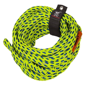 AIRHEAD SAFETY TUBE ROPE, 4k Green / Blue Up to 4 Person