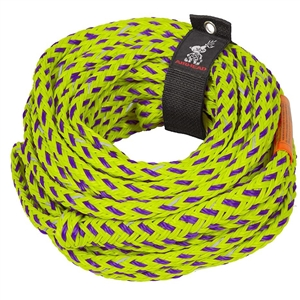 AIRHEAD SAFETY TUBE ROPE, 6k Green / Purple Up to 6 Person