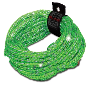 AIRHEAD BLING 2 Rider Tube Rope Green Up To 2 Person