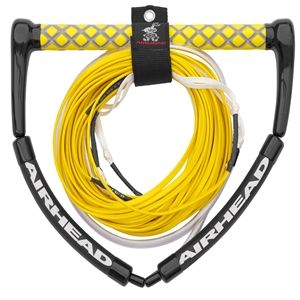 AIRHEAD Wakeboard Rope, Tangle Free, Electric Yellow Electric Yellow 4 Sections