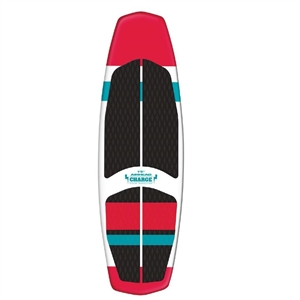AIRHEAD CHARGE Wakesurf Board Red/Black 1 Person