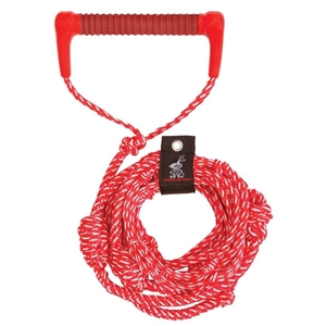 AIRHEAD Wakesurf Rope, 25', Red Red 25 Foot
