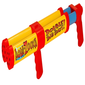 "AQUA ZOOKA DOUBLE SHOT, 24"", Pistol Grip Multi-Color 24 Inches"