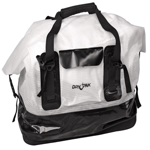 DRY PAK Waterproof Duffel, LG, Clear Clear Large