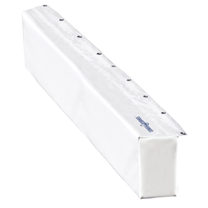 "HULL HUGR Marina Bumper - 48"" White 48 Inches"