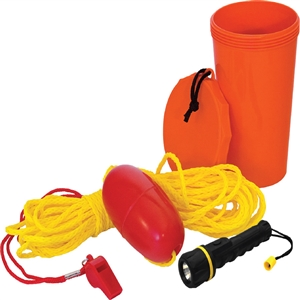 LIFE LINE Boat Safety Kit Orange 0