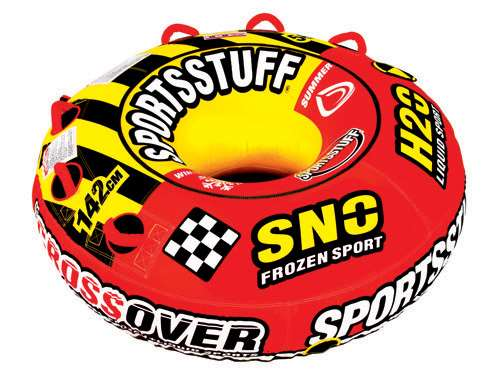 SportsStuff SUPER CROSSOVER Towable & Snow Tube