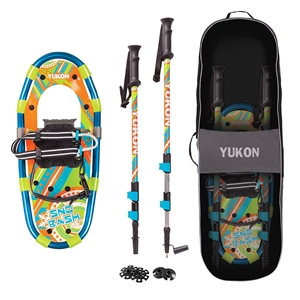 Yukon SNO-BASH Youth Aluminum Snowshoe Kit