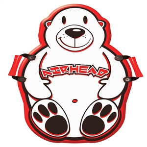 AIRHEAD SILLY POLAR BEAR Foam Sled, 33""