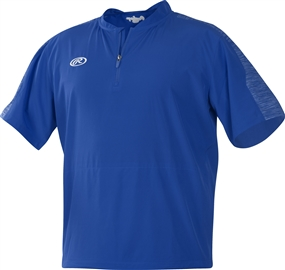 Rawlings Adult Short Sleeve Launch Cage Jacket - Royal