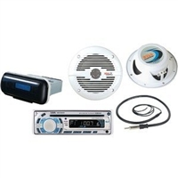 Boss Audio Marine Kit w/ Speaker & Antena