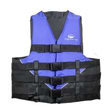 Xtreme Water Sports Deluxe Life Jacket Vest Blue/Black - Sm/Med.