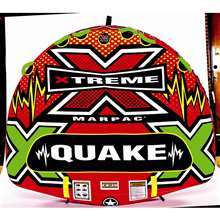 Xtreme Water Sports Quake Deck Tube Towable Lake Tube 75 X 68