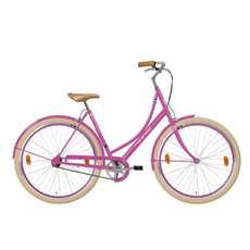 Hollandia Royal Dutch M&M Small/Medium (49 cm) Pink 700C City Bicycle