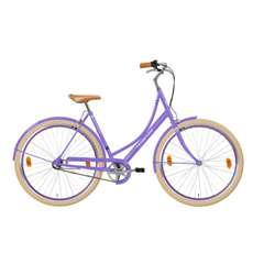 Hollandia Royal Dutch M&M Small/Medium (49 cm) Purple 700C Shimano Nexus 3 City Bicycle