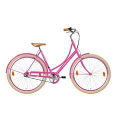 Hollandia Royal Dutch M&M Small/Medium (49 cm) Pink 700C Shimano Nexus 3 City Bicycle
