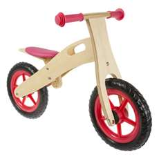 Anlen Ultra-light 12 inch Rose Wooden Running/Balance Bike Bicycle
