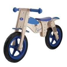 Anlen Moto 12 in Wooden Balance/Running Bike