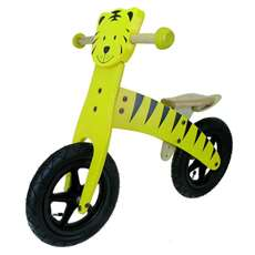 Anlen Tiger 12 inch Wooden Balance/Running Bike Bicycle