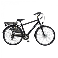 Hollandia Evado 7.19 Men's 700C Black Electric Bicycle