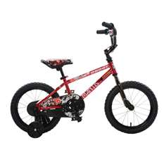 Mantis Growl Red Ready2Roll 16 inch Kids Bicycle, 2 Minute Hassle-Free Assembly