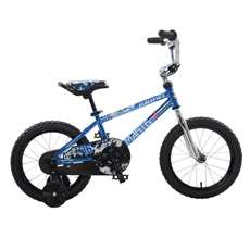 Mantis Growl Blue Ready2Roll 16 inch Kids Bicycle, 2 Minute Hassle-Free Assembly