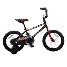 Mantis Growl Black Ready2Roll 16 inch Kids Bicycle, 2 Minute Hassle-Free Assembly