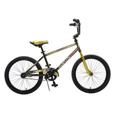 Mantis Growl Black Ready2Roll 20 inch Kids Bicycle, 2 Minute Hassle-Free Assembly