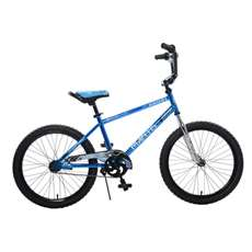 Mantis Growl Blue Ready2Roll 20 inch Kids Bicycle, 2 Minute Hassle-Free Assembly