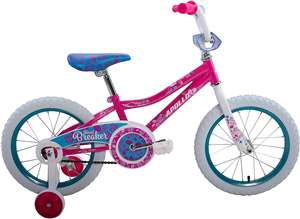 Apollo Heartbreaker 16 inch Kid's Bicycle, Magenta