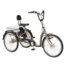 PFIFF Comfort 24 in Ansmann Electric Tricycle Bicycle