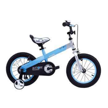 RoyalBaby Buttons, Matte Blue 16 inch Kid's Bicycle