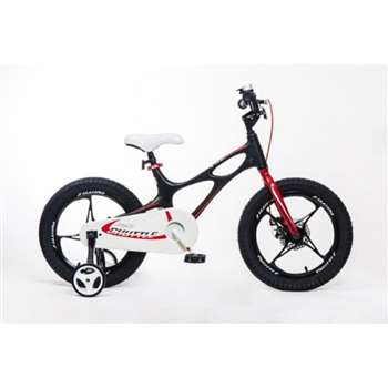 RoyalBaby Space Shuttle Black 16 inch Magnesium Kid's Bicycle