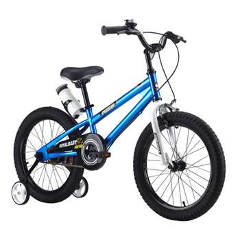 RoyalBaby Freestyle Blue 18 inch Kid's Bicycle