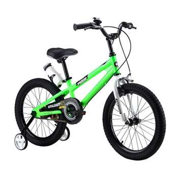RoyalBaby Freestyle Green 18 inch Kid's Bicycle