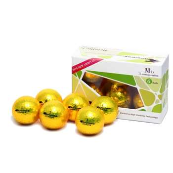 Proactive Golf Chromax M1X Golf Balls 6 pack - Gold